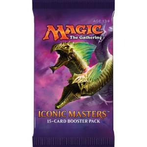 1 BOOSTER DE 15 CARTES SUPPLEMENTAIRES ICONIC MASTERS DE MAGIC THE GATHERING VERSION ANGLAIS