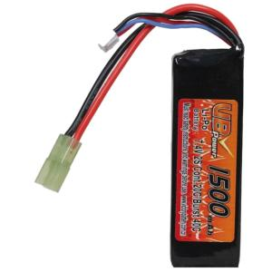 BATTERIE LIPO 7.4V 1500 MAH 20C/BURST 40C 1 STICK VB POWER