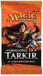 1 BOOSTER DE 15 CARTES SUPPLÉMENTAIRES LES DRAGONS DE TARKIR DE MAGIC THE GATHERING