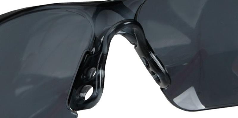 Lunette de protection bolle rush verre fume noir traitement anti buee anti rayure rushpsf airsoft - Lunette protection ecran ...