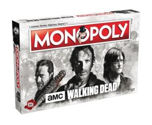 MONOPOLY THE WALKING DEAD AMC SERIE TV - JEU DE STRATEGIE ET DE REFLEXION