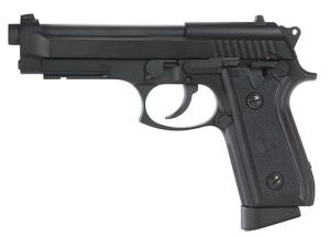 KWC PT92 PT99 NOIR CO2 BLOWBACK FULL METAL SEMI FULL AUTO 1.6 JOULE