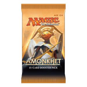 1 BOOSTER DE 15 CARTES SUPPLÉMENTAIRES AMONKHET DE MAGIC THE GATHERING