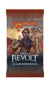 1 BOOSTER DE 15 CARTES SUPPLÉMENTAIRES LA REVOLTE ETHERIQUE DE MAGIC THE GATHERING