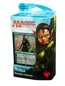 DECK DE PLANESWALKER KALADESH NISSA ARTISANE DE LA NATURE MAGIC THE GATHERING