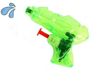 MINI PISTOLET A EAU BG 9 CM ENTIEREMENT TRANSPARENT