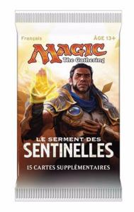 1 BOOSTER DE 15 CARTES SUPPLÉMENTAIRES LE SERMENT DES SENTINELLES DE MAGIC THE GATHERING