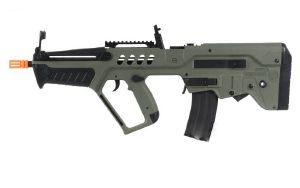 TAVOR TAR 21 VERSION EXPLORER VERT OLIVE AEG SEMI ET FULL AUTO HOP UP 1.2 JOULE