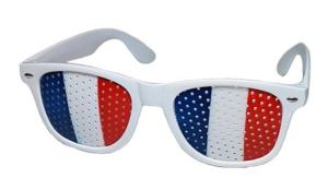 LUNETTE GRILLE DRAPEAU FRANCE SUPPORTER
