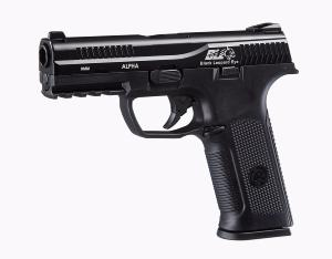 REPLIQUE PISTOLET BLACK LEOPARD EYE ALPHA NOIR GAZ GBB ICS 0.9 JOULE