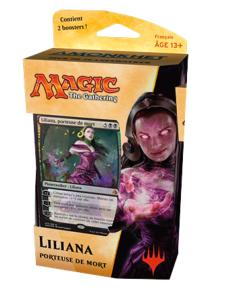 DECK DE PLANESWALKER AMONKHET LILIANA PORTEUSE DE MORT MAGIC THE GATHERING