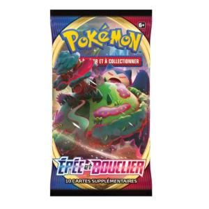 BOOSTER DE 10 CARTES SUPPLEMENTAIRES POKEMON EPEE ET BOUCLIER EB01
