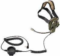 MICRO CASQUE MILITAIRE TACTICAL MIDLAND BOW-M EVO A BRAS AMOVIBLE AVEC MICROPHONE
