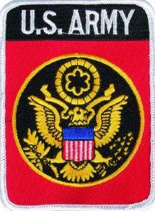 Товар: Милтек США нашивка Army.