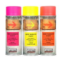 BOMBE DE PEINTURE MILITAIRE SPRAY FOSCO 400 ML YELLOW JAUNE FLUO
