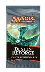 1 BOOSTER DE 15 CARTES SUPPLÉMENTAIRES DESTIN REFORGÉ DE MAGIC THE GATHERING