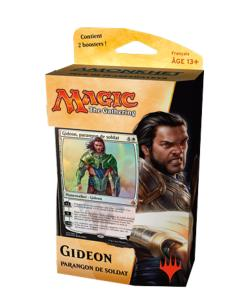 DECK DE PLANESWALKER AMONKHET GIDEON PARANGON DE SOLDAT MAGIC THE GATHERING