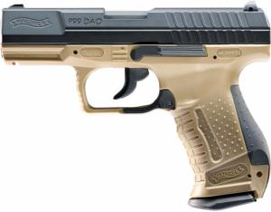 P99 WALTHER DAO TAN CO2 UMAREX BLOW BACK GBB SEMI AUTO 2 JOULES