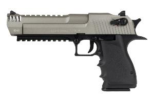 DESERT EAGLE L6 DUAL TONE CO2 BLOWBACK CULASSE METAL SEMI ET FULL AUTO 1.1 JOULE CYBERGUN