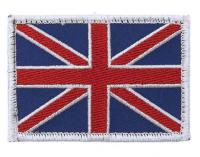 PATCH / ECUSSON TISSU SCRATCH BRODE DRAPEAU UK UNITED KINGDOM ROYAUME UNI