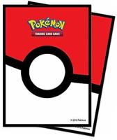 DECK DE 65 SLEEVES / PROTECTIONS POUR CARTE DE COLLECTION POKEMON - DECOR POKEBALL