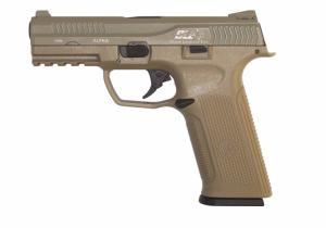 REPLIQUE PISTOLET BLACK LEOPARD EYE ALPHA TAN GAZ GBB ICS 0.9 JOULE